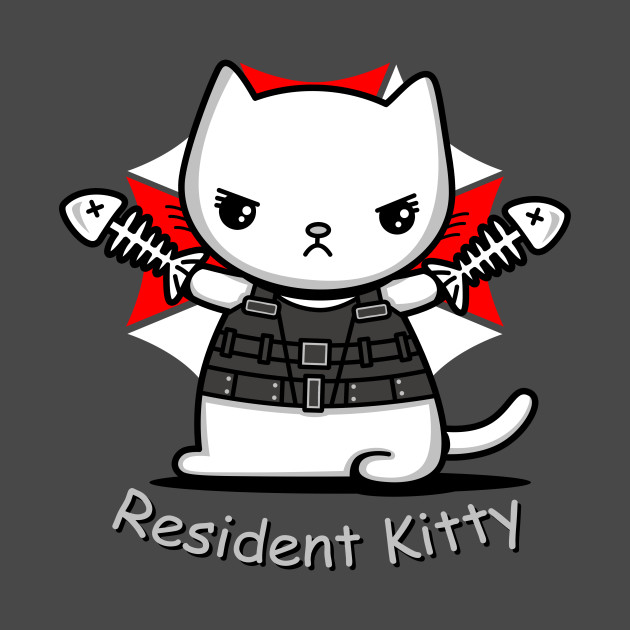 Resident Kitty T-Shirt thumbnail