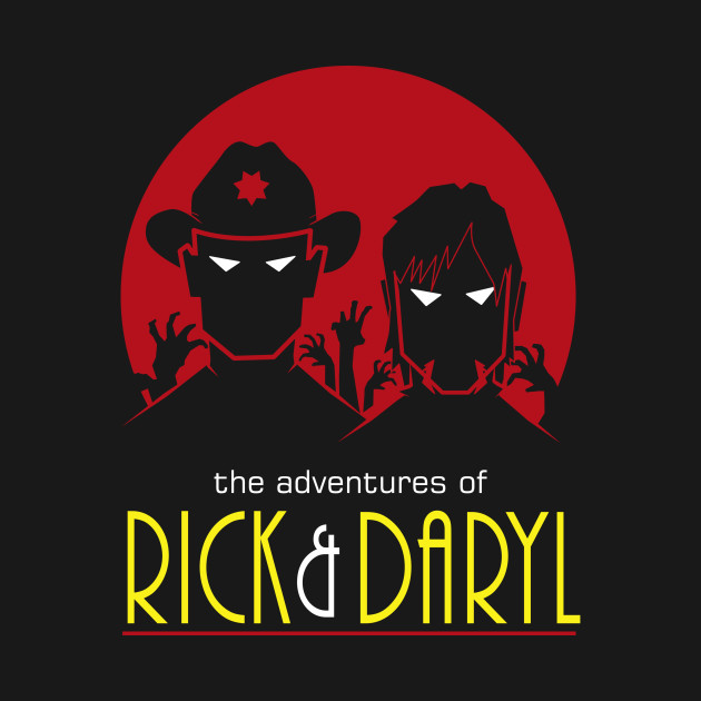 Adventures Of Rick And Daryl T-Shirt thumbnail