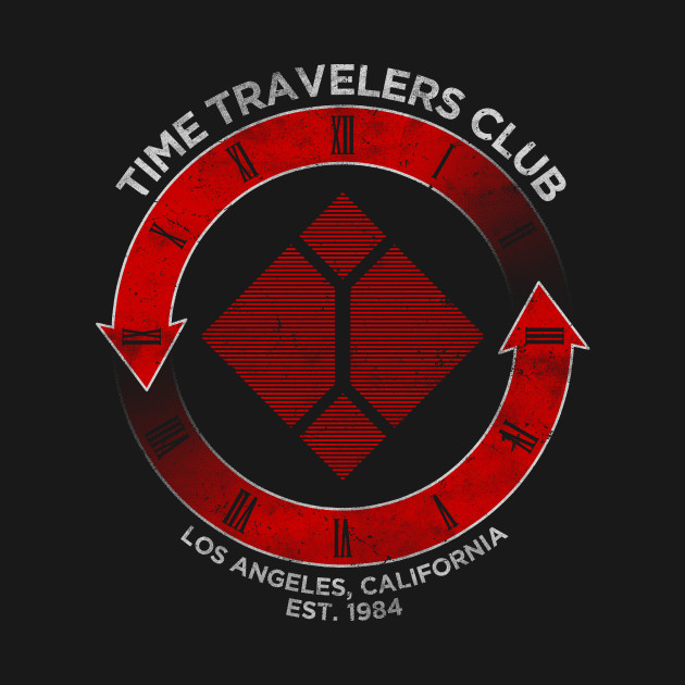 Time Travelers Club (Skynet) T-Shirt thumbnail