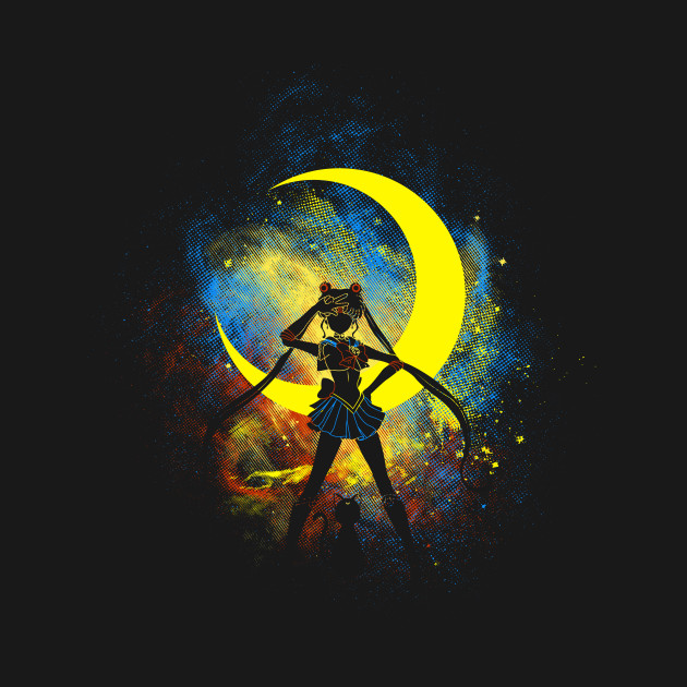 Moon Art T-Shirt thumbnail