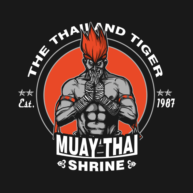 The Thailand Tiger T-Shirt thumbnail