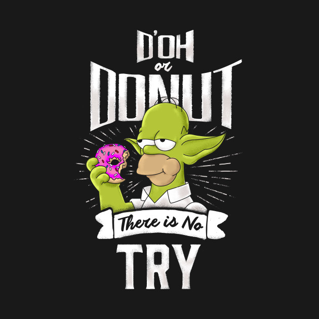 D'oh Or Donut T-Shirt thumbnail