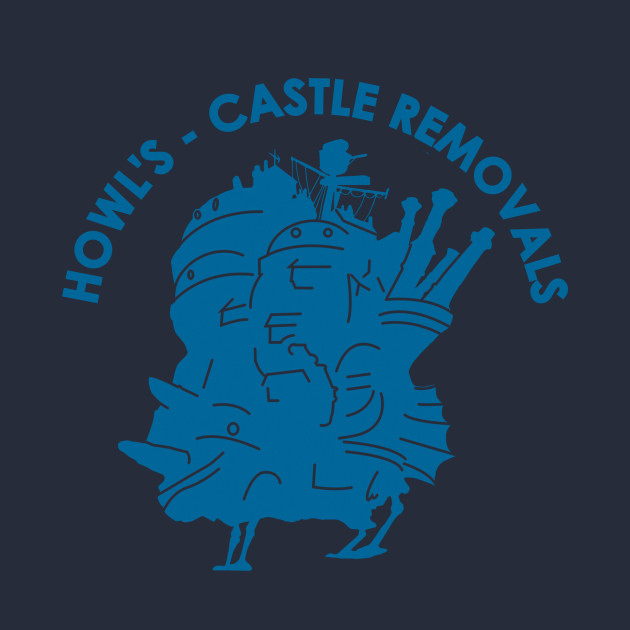 Howl's Castle Removals T-Shirt thumbnail