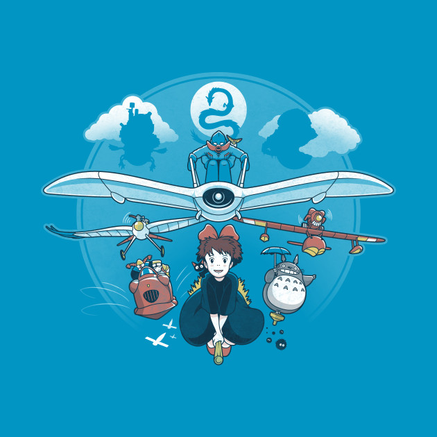 Flight Of The Imagination T-Shirt thumbnail