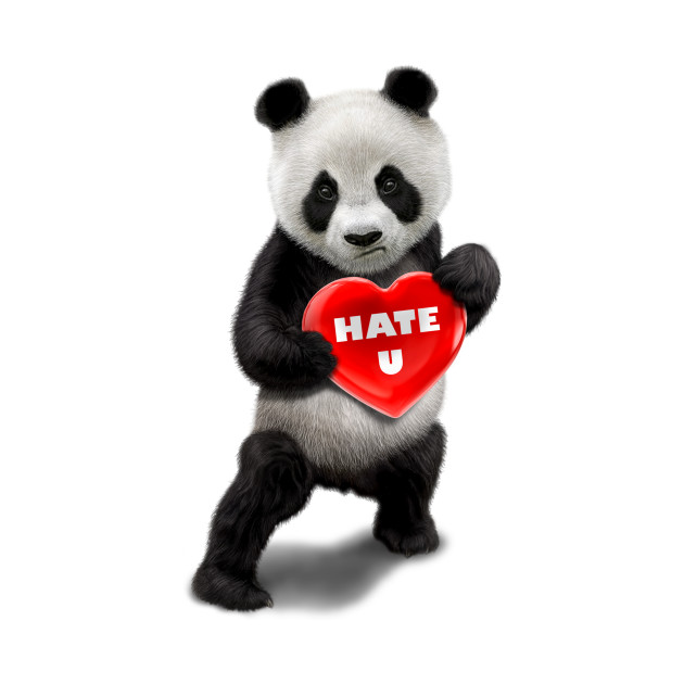 I love you panda bear