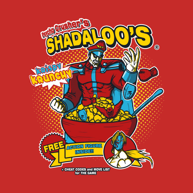 Psycho Crusher's Shadaloo's Red T-Shirt thumbnail