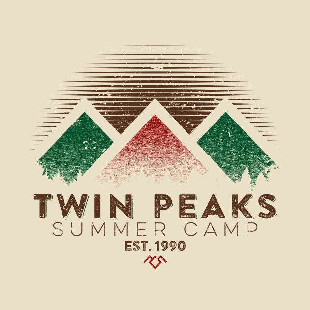 Twin Peaks Summer Camp (Light) T-Shirt thumbnail