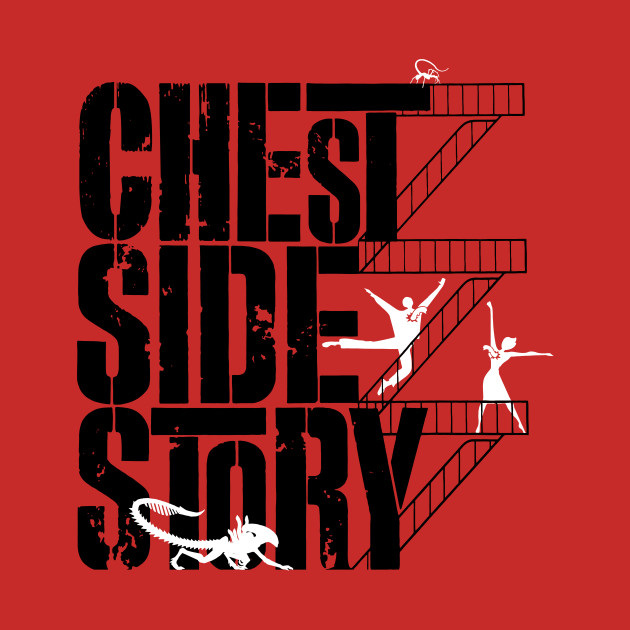 Chest Side Story T-Shirt thumbnail
