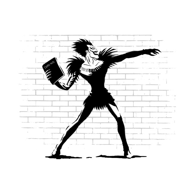 Death Note Thrower T-Shirt thumbnail