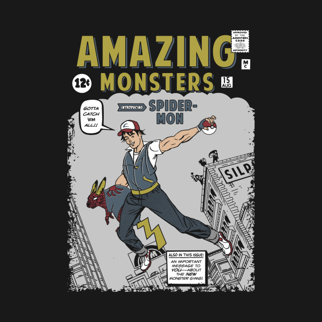 Amazing Monsters T-Shirt thumbnail