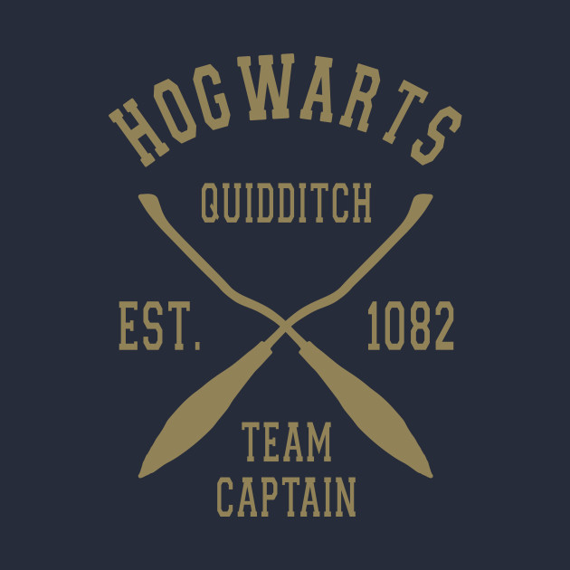Hogwarts Quidditch Team Captain T-Shirt thumbnail
