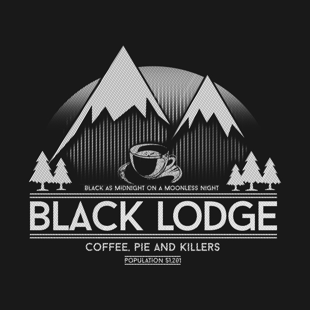 Black Lodge T-Shirt thumbnail