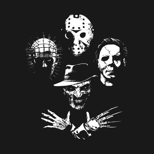 Horror Icons T-Shirt thumbnail