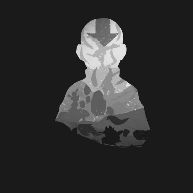 Monochrome Avatar T-Shirt thumbnail
