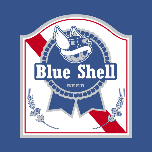 Blue Shell Beer T-Shirt thumbnail
