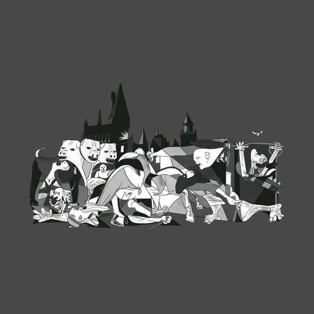 Picture Of Hogwarts T-Shirt thumbnail