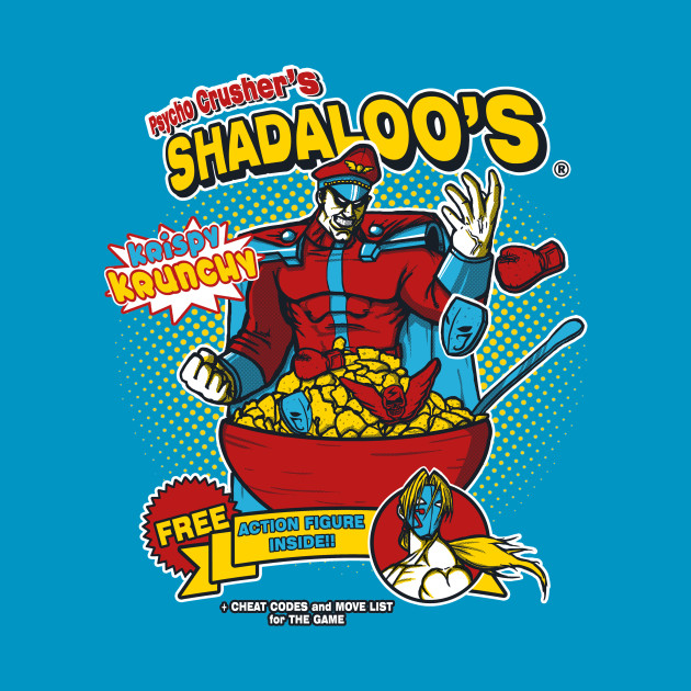 Psycho Crusher's Shadaloo's T-Shirt thumbnail