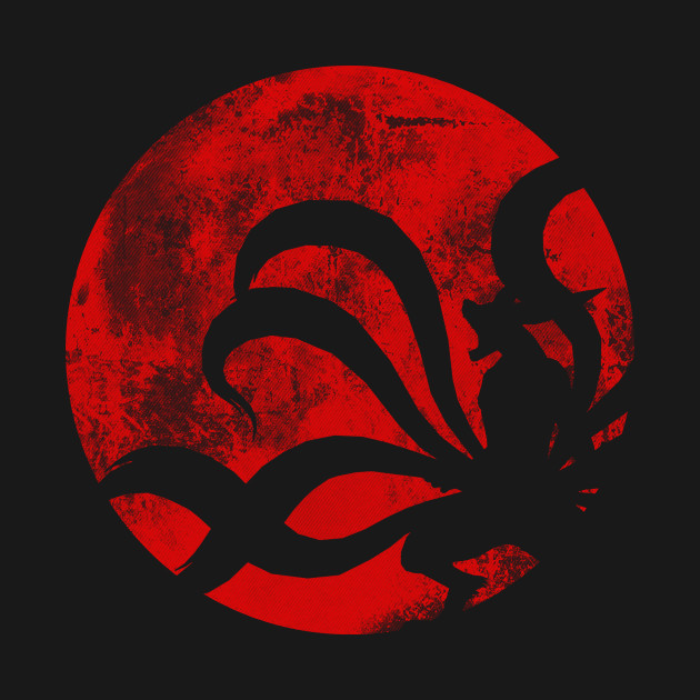 The Rage Of The Tailed Beast T-Shirt thumbnail