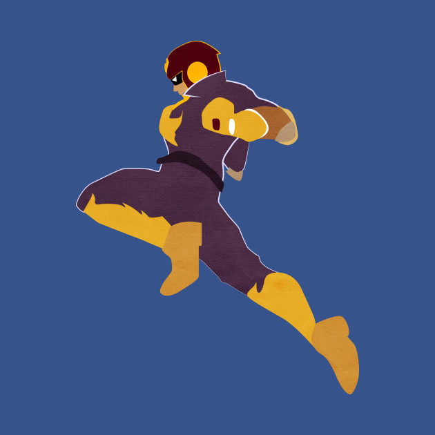 Captain falcon knee luigi