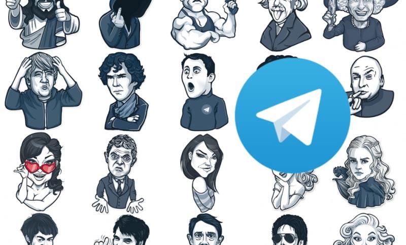 Как сделать стикеры в телеграме?