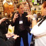 רועי זלצמן - קידום מכירות בתערוכה מקצועית