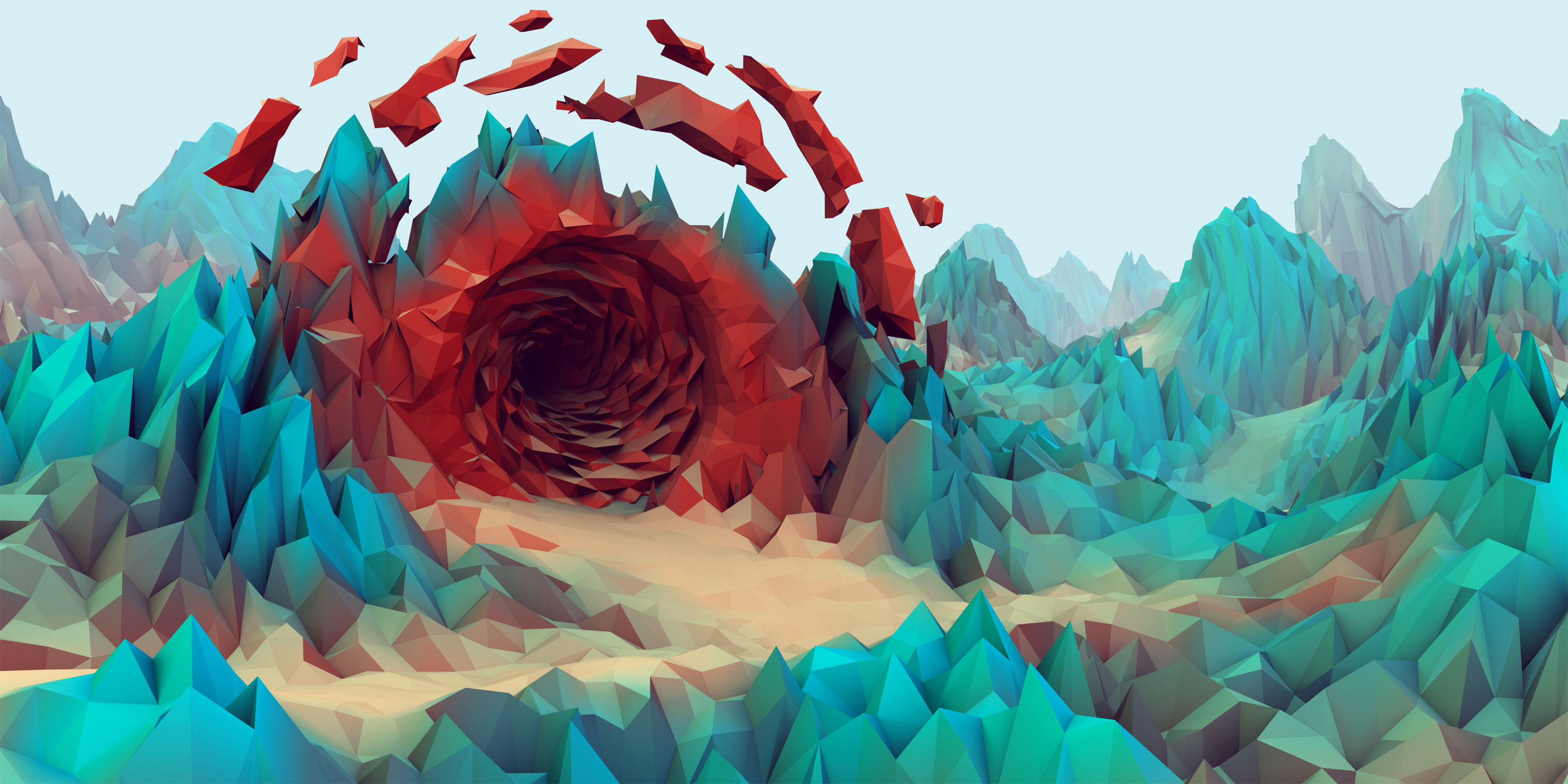 19 Beautiful Low-Poly Wallpapers
