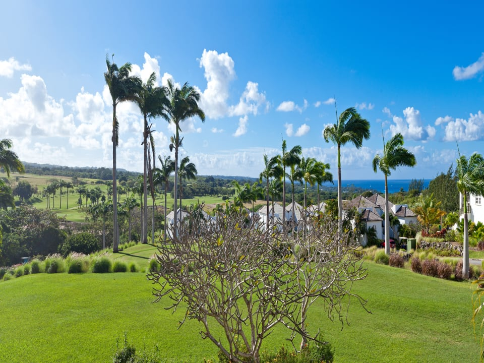 For sale in Barbados with views of the Caribbean Sea