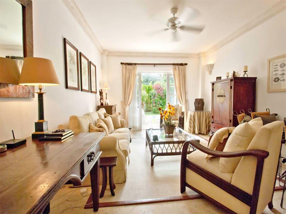Elegantly furnished living room