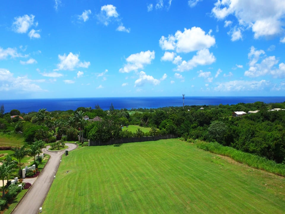 Ocean Drive Lot 18 and the Caribbean sea beyond