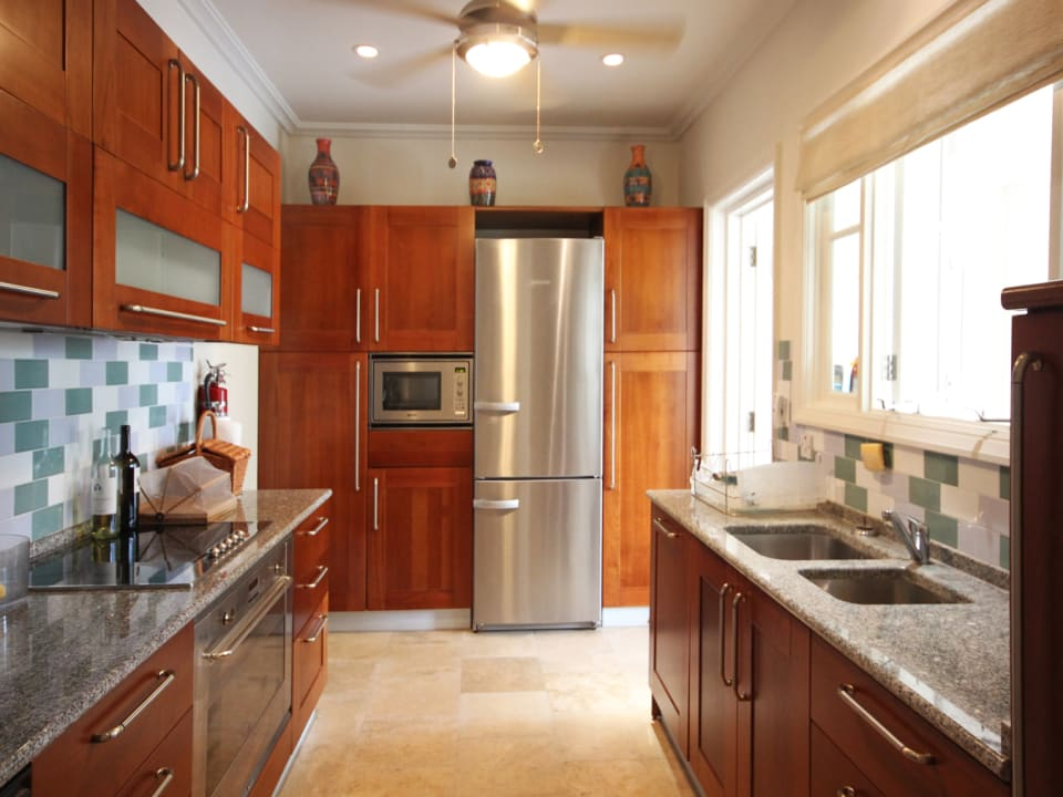 Kitchen with quality finishes