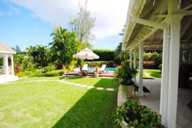 Verandah and swimming pool