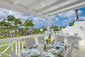 Great sea views from veranda