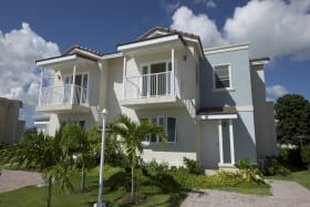 View of one of the Duplexes