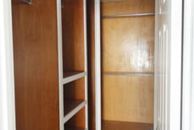 Walk-in closet - lots of space