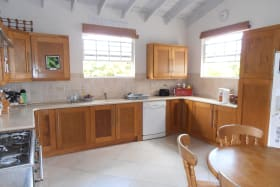 Large Kitchen with lots of cabinets