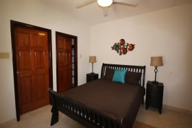 Master bedroom ensuite with a walk in closet