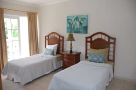 Guest bedroom with access to patio