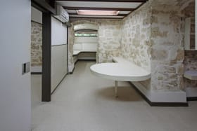 Private office with secretarial area