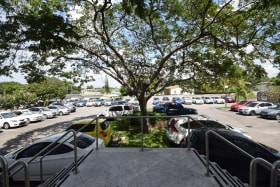 Extensive Car Park Area