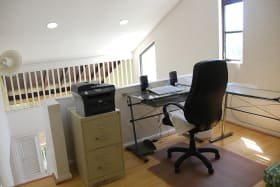 Upper loft area - Office