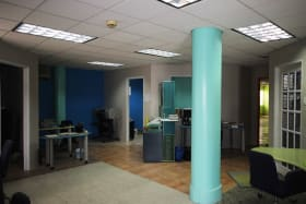 Office by entrance