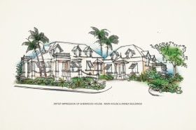 Artist Impression of Sherwood House