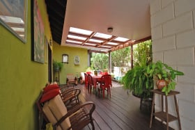 Tropical Covered Patio