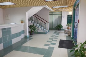 The Corporate Centre Main entrance and ground floor lobby