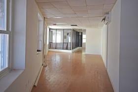 Upstairs space with beautiful hardwood floors