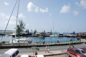 Fabulous views of the Bridgetown Careenage