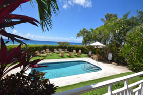 View and pool deck
