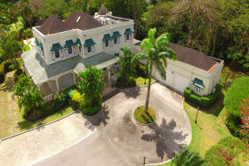 Arial View Front of home