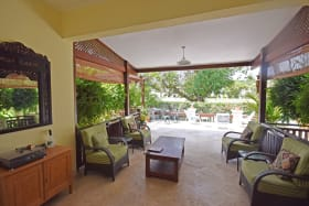 Luxurious patio - views of 1st Fairway