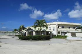 Barbados Golf Club House Entrance